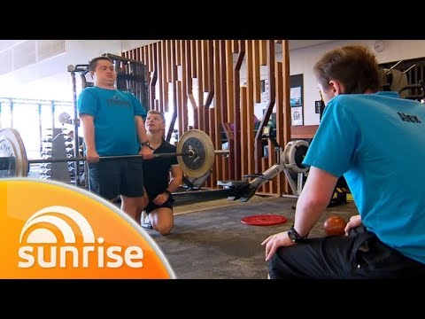 The Personal Trainer Helping People With A Disability Stay Fit | Sunrise