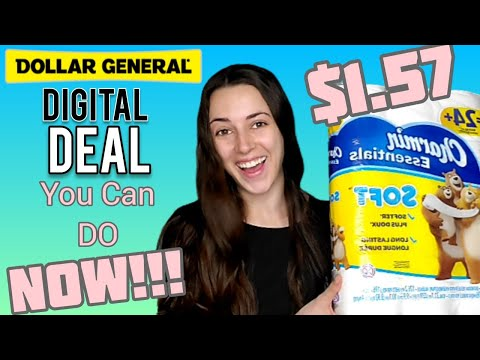 Dollar General Couponing - P&G All Digital Deal - How To Get A $5/$5.01