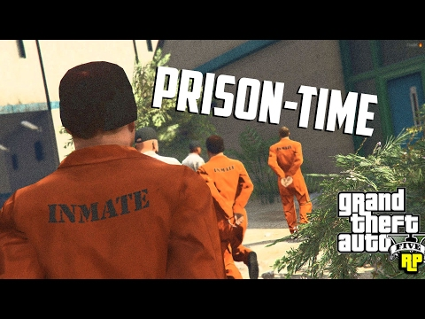 GOING TO JAIL IN GTA RP!