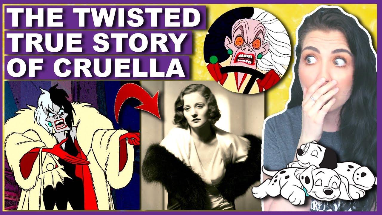 The DARK Origins Of Cruella De Vil (THE TRUE STORY)