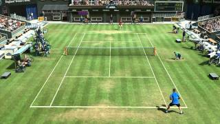 Virtua Tennis 4 -  Juan Martin Del Potro vs Rafael Nadal PC HD