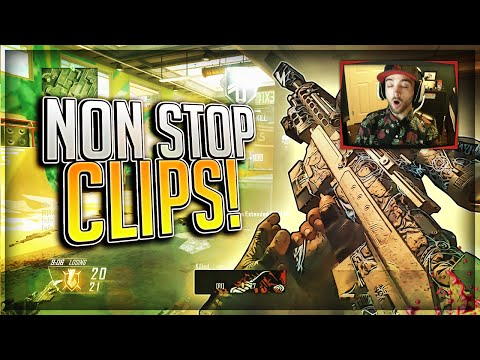 NON STOP CLIPS!! (BO2 Clips & Funny Moments)
