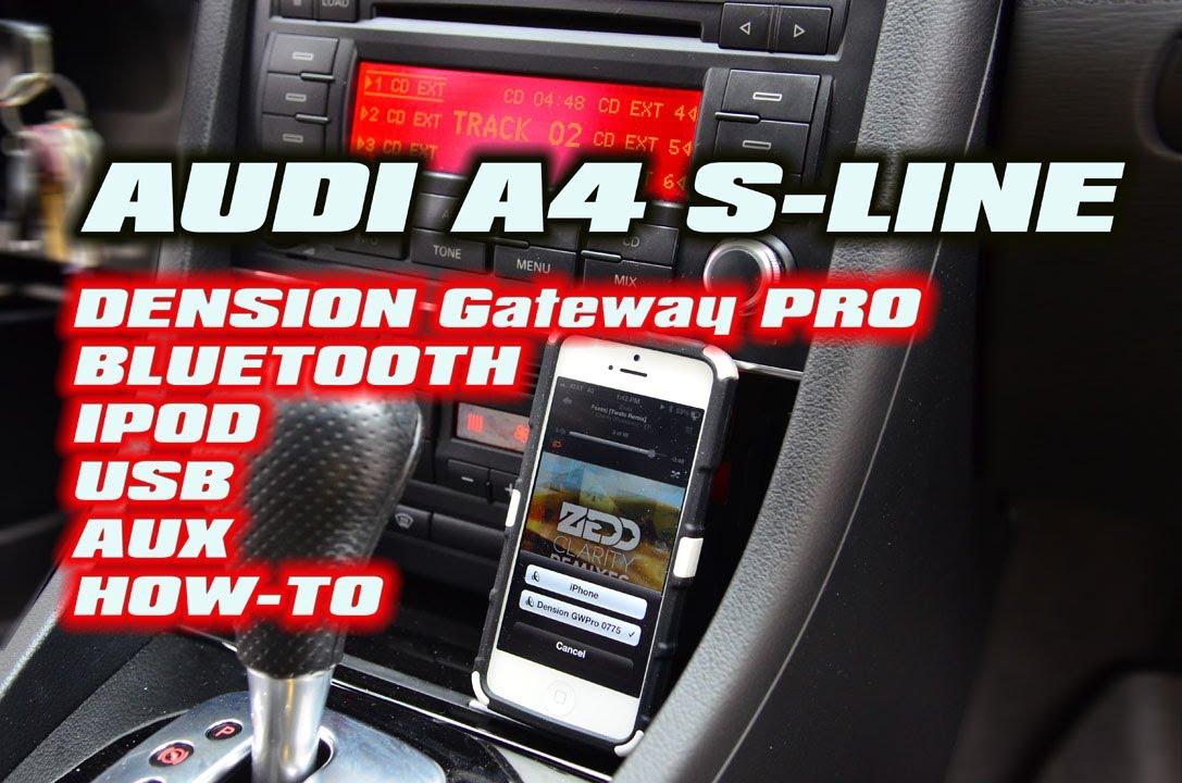 Dension Support Deutschland - Audiotechnik Dietz - A4 - GWP1AC1