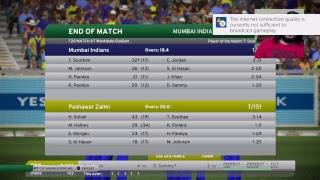 Mumbai Indians vs Peshawar Zalmi // MI vs PZ // IPL vs PSL // Don Bradman Cricket 17