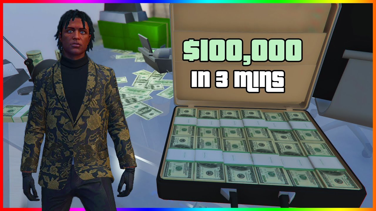 Make 100k in 3 Minutes in GTA Online With This Easy Solo Money Making Method (Easy)