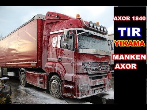 AXOR TIR YIKAMA / MANKEN YIKANIRKEN