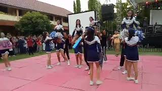 SPINX CHEERLEADER AT EVOLUTION 2K17 SMA N 11 SEMARANG
