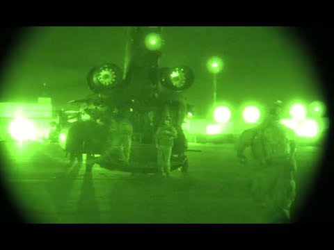 US Special Ops Take Out IS-K In Afghanistan - Night Vision Video