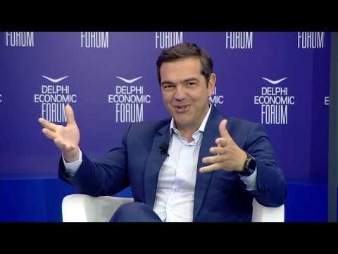 Day 2 - Fireside Chat: Alexis Tsipras And Olga Tremi