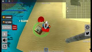 roblox gameplay of the Treasure Hunt Simulator