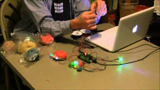 Hummingbird and Squishy Circuits