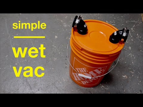 How to Make ● a Simple Water Vacuum