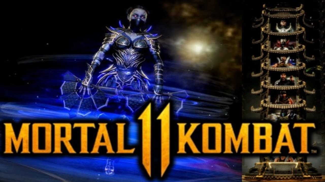 MK11 *REVENANT KITANA* KLASSIC TOWER GAMEPLAY!! (ENDING)