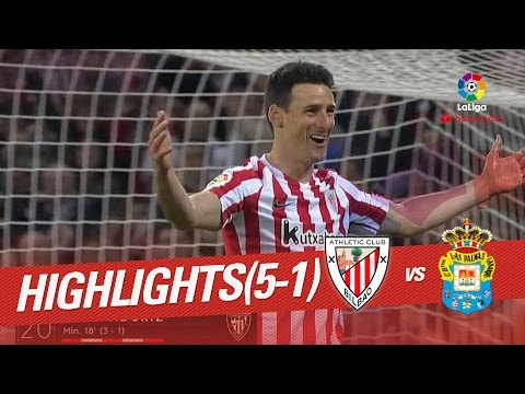 Resumen de Athletic Club vs UD Las Palmas (5-1)