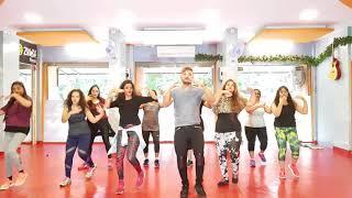 Nawabzaade: TERE NAAL NACHNA -SONG Feat .Athiya shetty!Badshah  -Zumba  choreography by SFC team