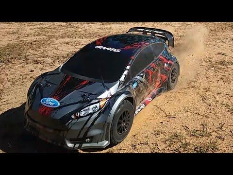 Traxxas Ford Fiesta ST RallyVXL 2s Run