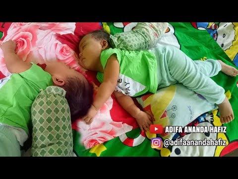 Gaya Tidur Adifa Bikin Ngakak - Bermain Dan Belajar - Mainan Anak - Video Anak