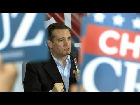 Ted Cruz campaign rally in Las Vegas sponsored by Glenn Beck