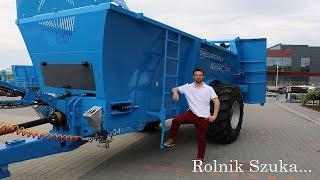 Rolnik Szuka Maszyny   Rozrzutnik Euromilk Buffalo RX