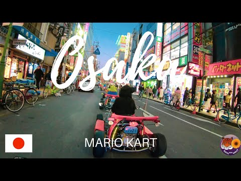 GO KART IN OSAKA - TRAVEL JAPAN - MARIO KART IN REAL LIFE -