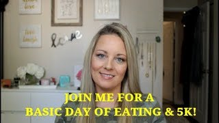 What I Eat In A Day! Easy meals