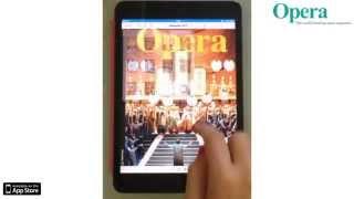 Opera Magazine - iOS App Promo