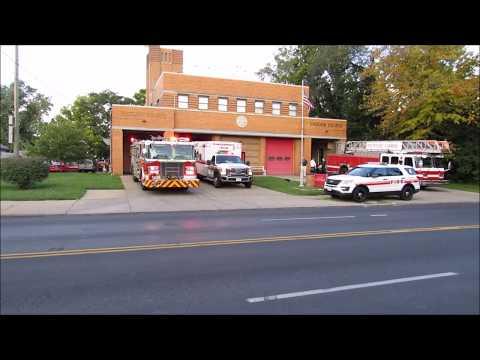 Cincinnati Engine 2 and Medic 2 Responding