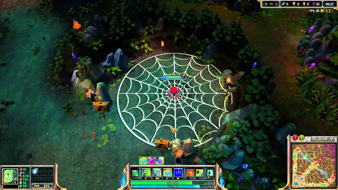 Spiderman Hd Wallpaper League Of Legends Spider Amumu Youtube