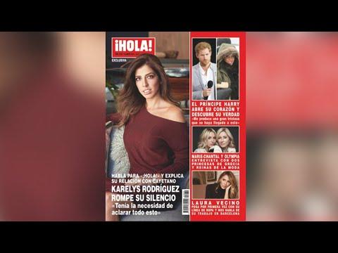 Karelys Tuvo Una Relación Con Cayetano Rivera, Según 'Hola!'