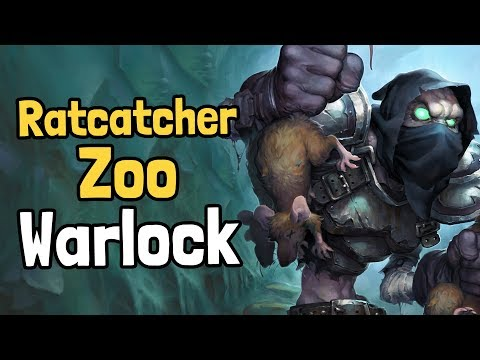 Ratcatcher Zoo Warlock Decksperiment - Hearthstone