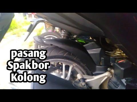 Pasang Spakbor Kolong/hugger Di Vario New 2018