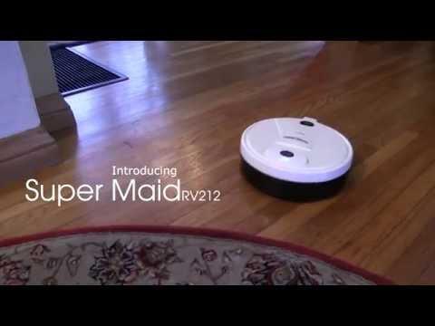 Techko Maid - Super Maid rv212- Robotic Floor Cleaning Machine
