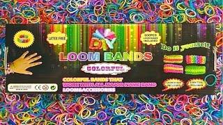 Видео резинки обзор Loom bands unboxing and revew #3