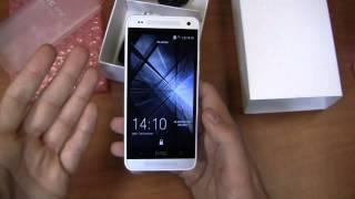 HTC One mini Unboxing
