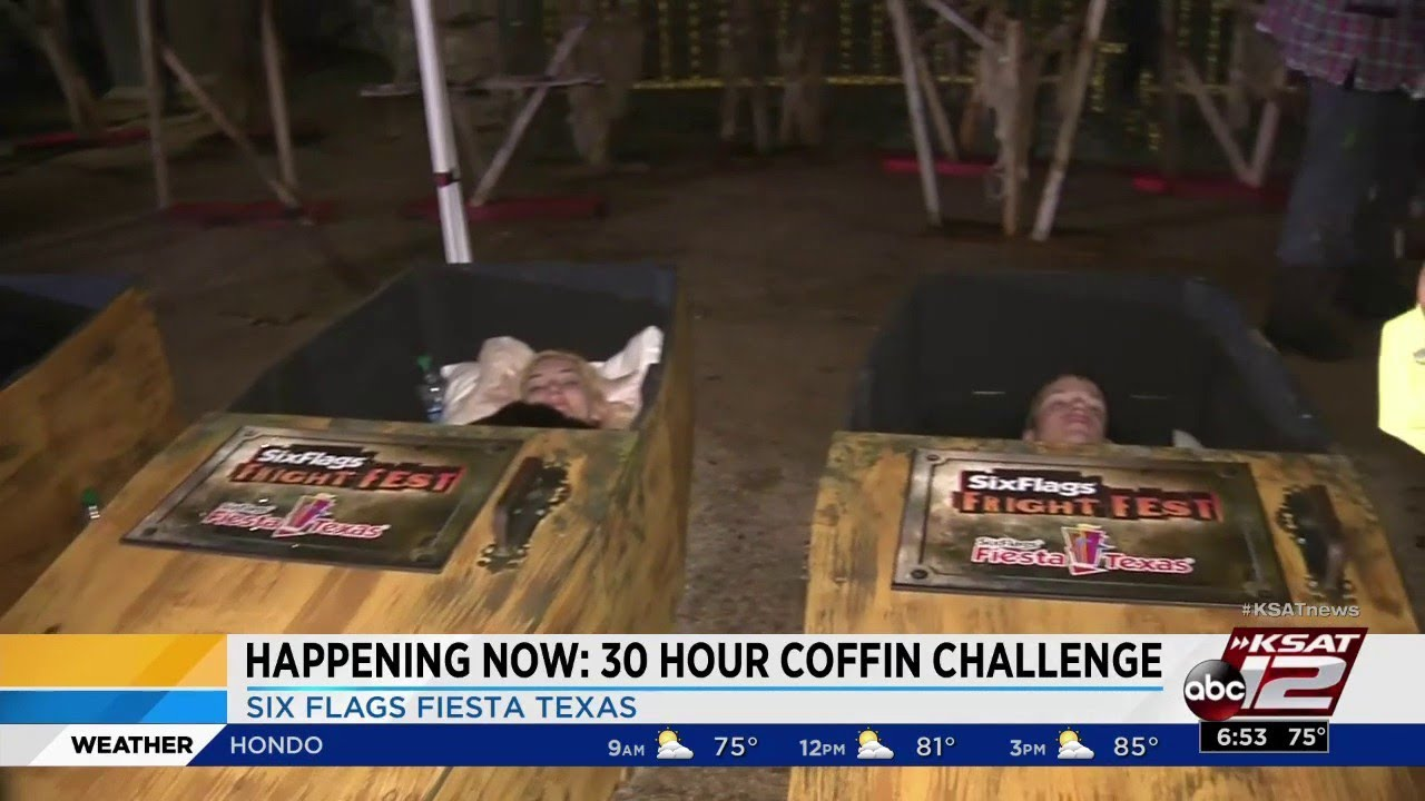 Meet The Contestants Of The 30 Hour Coffin Challenge At Six Flags Fiesta Texas