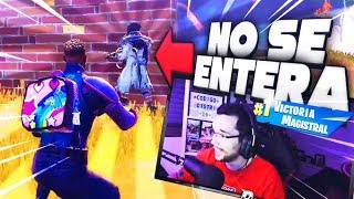 LE INTENTO REGALAR LA PARTIDA Y ME TRAICIONA!!! | FORTNITE