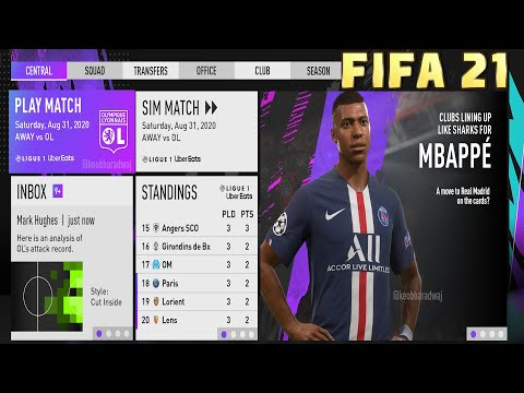 FIFA 21 CAREER MODE NEW FEATURES   FIFA 21 GAMEPLAY TRAILER - RELEASE DATE + MORE!