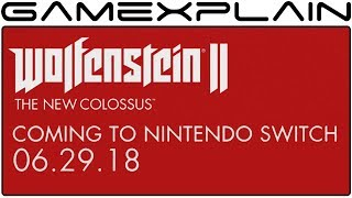 Wolfenstein II for Nintendo Switch - Release Date Trailer
