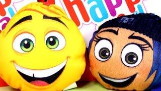 Emotki Film • Maskotki z Happy Meal • Zabawki z McDonalda • 2017