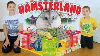 ON CONSTRUIT HAMSTERLAND ! - PARC D'ATTRACTION POUR HAMSTER 🎡 🐹 thumbnail