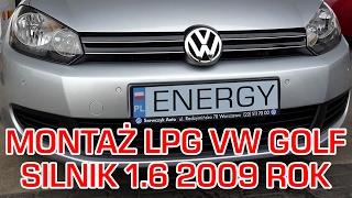 Gaz do Volkswagena Golfa 1.6 2009r - montaż LPG BRC Sequent 24