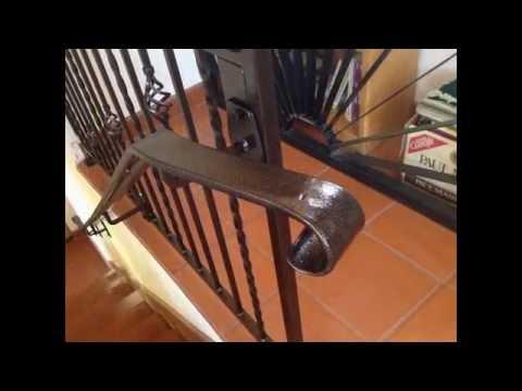 Forging of Steel Hand Rails  - Process Through Installation