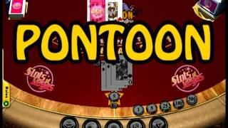 Pontoon Table Game Video at Slots of Vegas