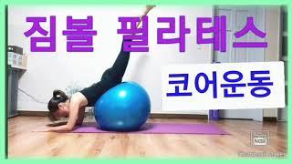 [문쌤][짐볼 필라테스] 복부,엉덩이,허벅지 코어근력 …