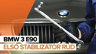 Hogyan cseréljünk Stabilizátor összekötő BMW 3 (E90) - online ingyenes videó