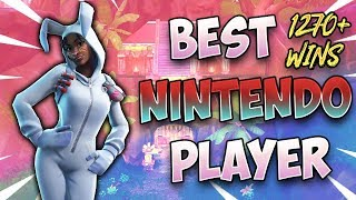 Fortnite Best Nintendo Switch Player- RANDOM DUOS (Using Mic!) / 1270+ wins