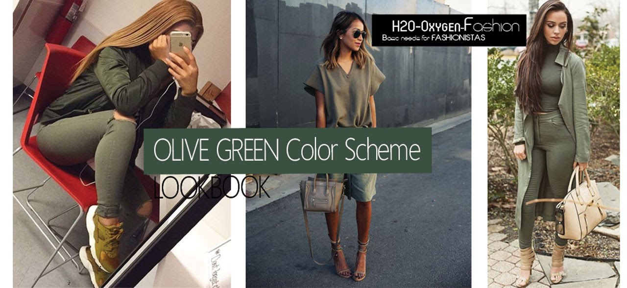 Olive Green Outfits How To Style Lookbook Youtube