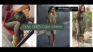 Olive Green Outfits | How to Style Lookbook
