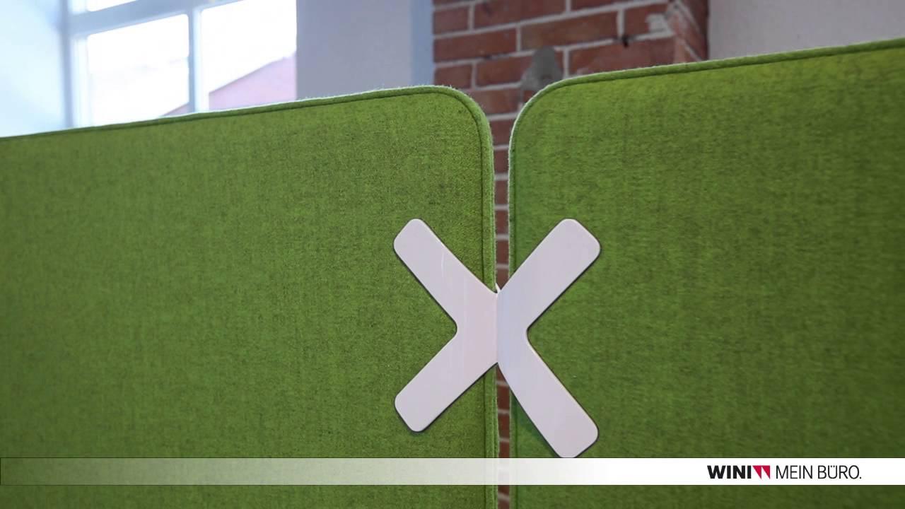 WINEA X Paneelsystem von WINI Büromöbel - YouTube