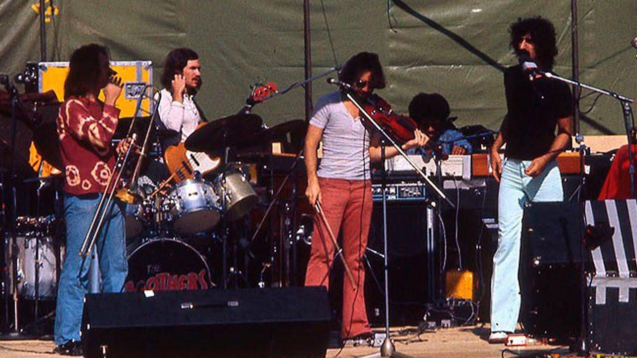 frank zappa duprees paradise 1973 youtube